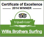 Willis Bros. Surfing Trip Advisor