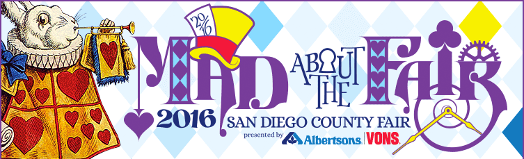 The San Diego county Fair in Del Mar, California